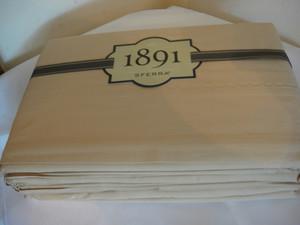 1891 Sferra Cal- King Sheet Set Signature Sateen-Flax