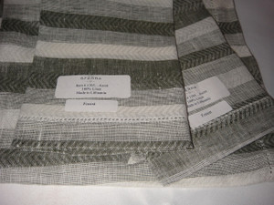 Ascot Forest Set of Four Hemstitched Dinner Linen Napkins by Sferra