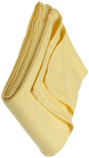 1891 Sferra Opera Twin Blanket Canary Yellow New 80 X 100
