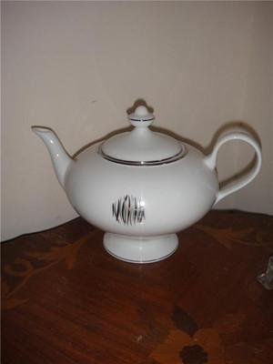Christofle Wakame Platine teapot Porcelain China Dinnerware New SP 7638420