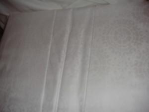 Frette Aix  Talia  FX5192 E2405 King Sheet Set  Bianco White