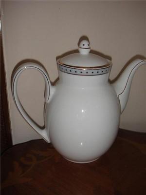 Christofle Babylone Gris Beverage Coffee Pot China New