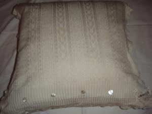 Ralph Lauren Rue Des Artistes Ivory Lace Throw Pillow New
