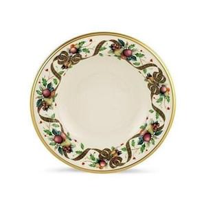 Holiday Tartan Set of 8   9 Inch Rim soup Bowl s by Lenox