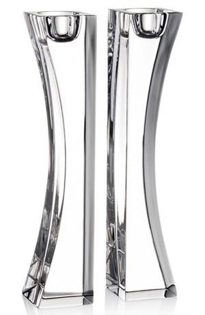 Nambé Kissing 9-inch Candlesticks, Pair New Boxed