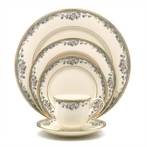 Lenox Spring Vista 5Pc Place Setting Dinnerware For One With Soup Bowl