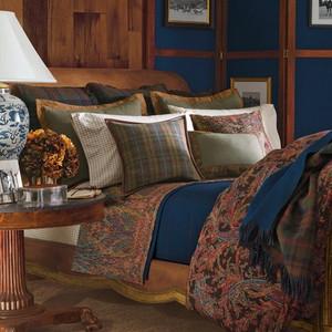 Ralph Lauren Bedford Hunt Paisley Queen Comforter Set 14P New