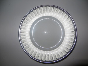 J.L Coquet Limoges France Rythme Swing Bread and Butter Plate New