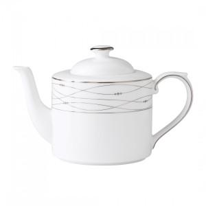 Royal Doulton Precious Platinum 37-Ounce Teapot
