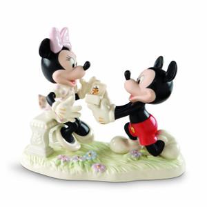 Disney's Kisses for Mickey Figurine by Lenox