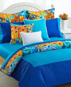 Ralph Lauren Isle Capri Royal Blue Cal King Fitted Sheet