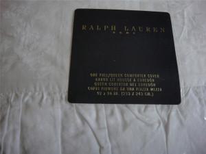 Ralph Lauren Off White Delphine Floral King Duvet Set