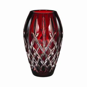 Waterford Crystal Araglin Prestige Ruby Vase (9 Inches)