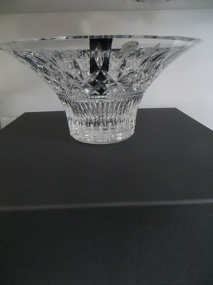"""House of Waterford Hositality Crystal Lismore 10""""Bowl"""
