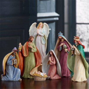 Lenox Celebrating The  King Nativity 7pc Holy Family Set New In Box
