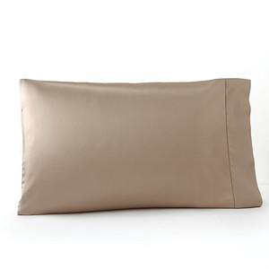 Sferra Giotto Standard Pillowcases Dark Khaki