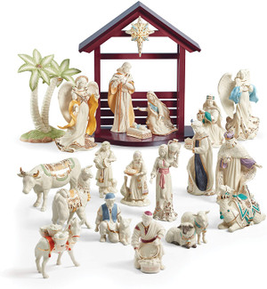 Lenox First Blessing 21 Pc Holy Family Set New Individually Boxed