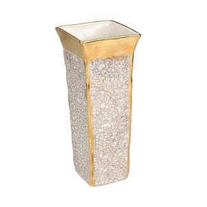 Michael Wainwright Tempio Luna Gold Square Vase