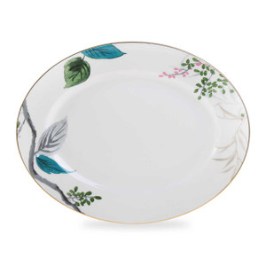 Birch Way Watercolor-Inspired florals Serving Platter by Kate Spade Lenox