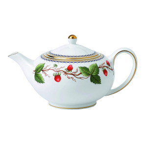 Wedgwood Wild Strawberry Archive Small Teapot
