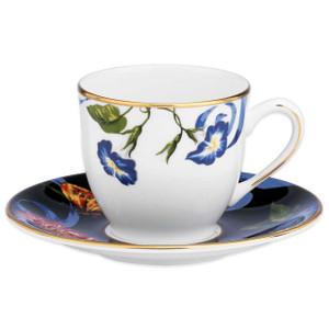 Lenox Scalamandre Stravagante Demitasse Cup and  Saucer 3 oz New