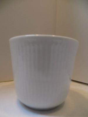 Royal Copenhagen White Fluted Plain Thermal Mug 8.5 oz