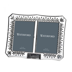 Waterford Crystal Lismore Double Frame New