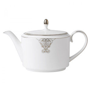 Vera Wang Imperial Scroll Teapot  by Wedgwood Discontinued