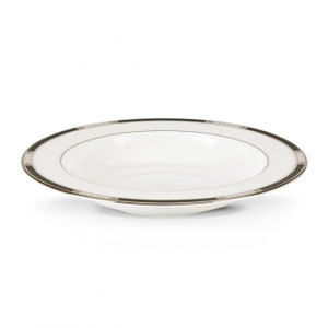 Lenox Hancock Platinum White Soup Bowl