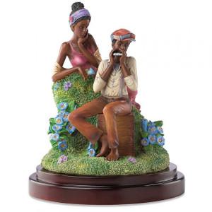 John Holyfield's Ebony Visions Love Jones Limited Edition Figurine