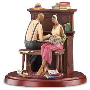 John Holyfield's Ebony Visions Serenade Limited Edition Figurine