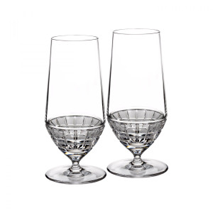 Waterford London Cold Beverage Glass, Pair - Discontinued, New in Box