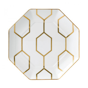 Wedgwood Arris Accent Octagon Plate