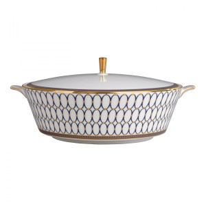 Renaissance Gold Covered Vegetable Bowl by Wedgwood