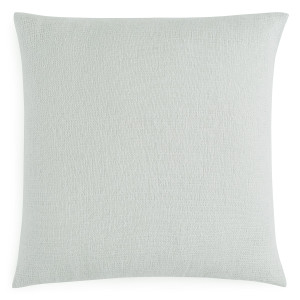 "Sferra Perlo Decorative Throw Pillow, Silversage 22"" x 22"""