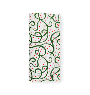 Sferra Frolic Holiday Placemats Emerald/Red Set of 4