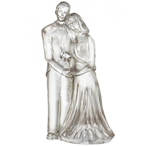 Waterford Wedding Couple Collectible Cake Topper New