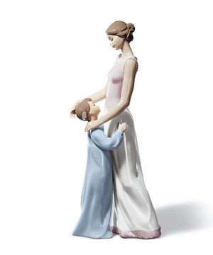 Lladro Figurine  Someone to look up to