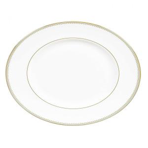 Wedgwood Golden Grosgrain Platter