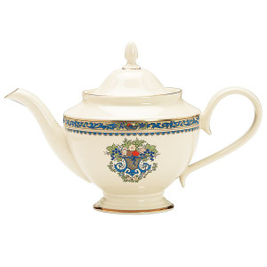 Lenox 40-ounce  China Autumn Teapot With Lid