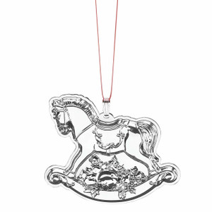 Reed And Barton Francis 1 Rocking Horse  Annual Ornament 19th Edition