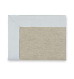 Sferra Larro King Flat Sheet Bluefin New