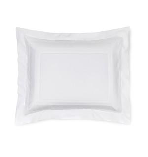 Sferra Capri Standard Sham White New