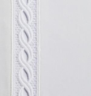 Sferra Millesimo Ivory Bedskirt or Window  Panel New
