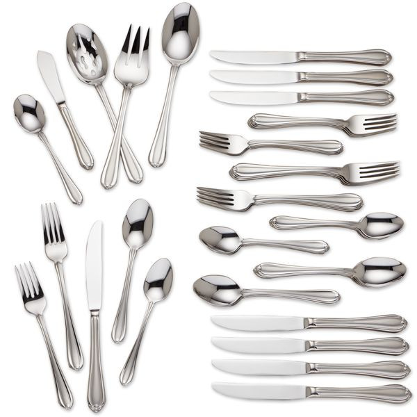 Gorham Melon Bud Frosted 45 PC Stainless Steel Set