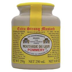 Pommery Lion's Mustard (Dijon) Stone Jar