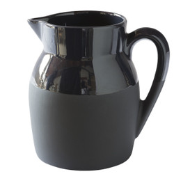 Manufacture de Digoin Large 1L Jug Navy Blue