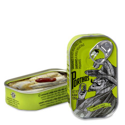 Conservas Portugal Norte Sardines in Hot Vegetable Oil