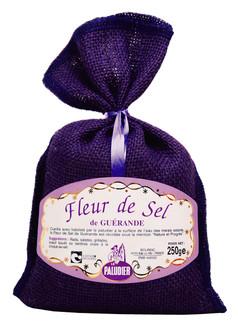 Le Paludier Guerande Fleur de Sel in Purple Bag
