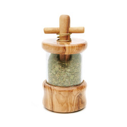 Berard Olive Wood Herb Mill